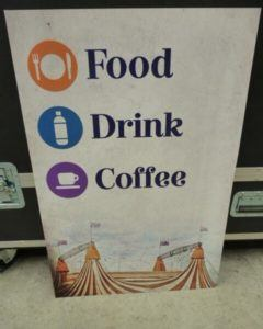 Food Drink Coffee Corflute Sign