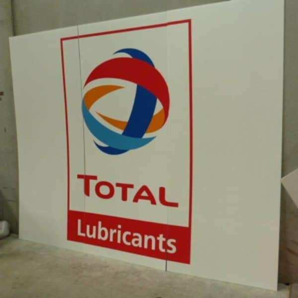 Total Lubricants Corflute Sign