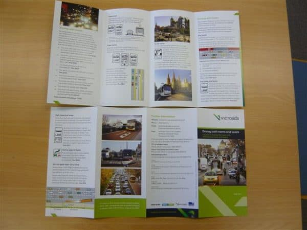 Folded Brochures 8pp DL