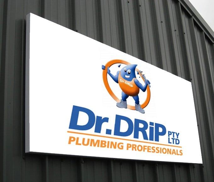 Aluminium Signage Dr Drip