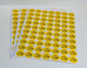 Printed Sheet Stickers