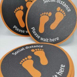Indoor Floor Stickers