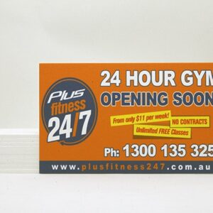 Foamed PVC Signs Printing