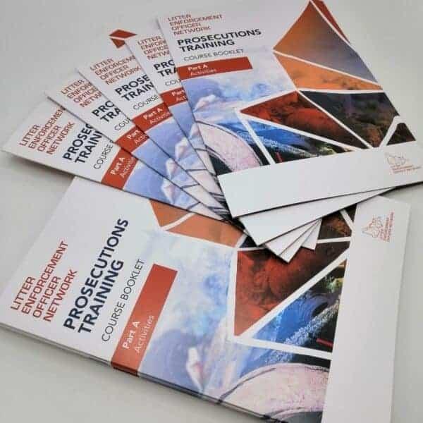 Litter Enforcement Brochures