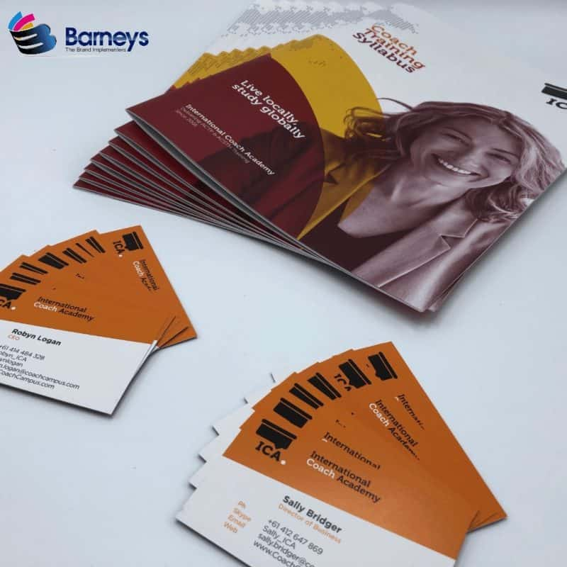 Printed Brochures & Business Cards