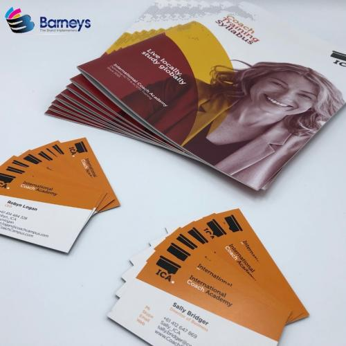 Brochures and Business Cards