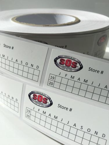 Roll Labels